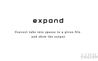 UNIX/LINUX Command – expand