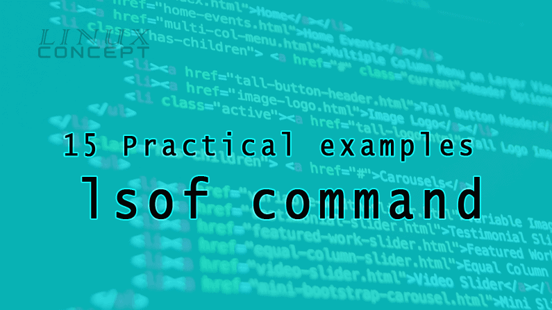 15 Practical examples of lsof command