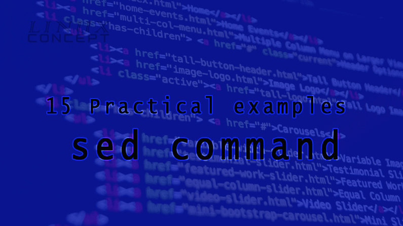 15 Practical examples of sed command