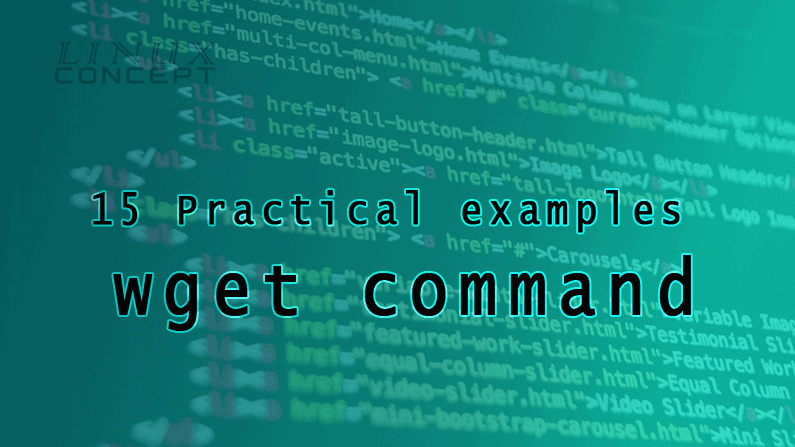 15 Practical examples of wget command