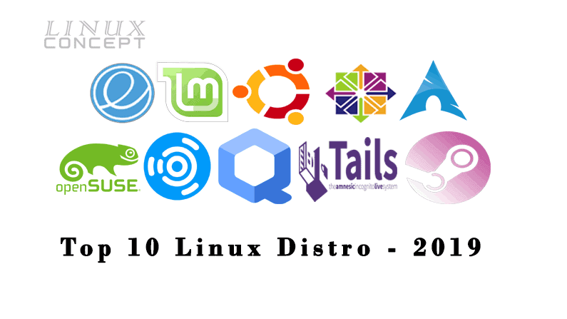 Top 10 Linux Distribution – 2019