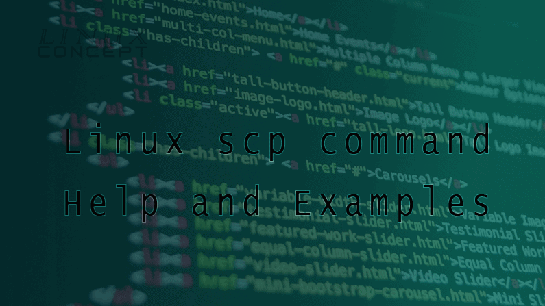 Linux scp command Help and Examples