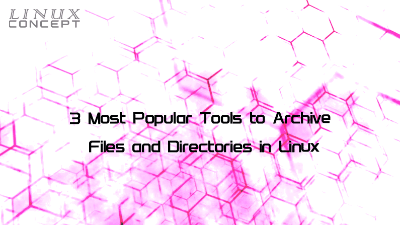 Most Popular Tools to Archive Files and Directories in Linux