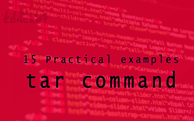 15 Practical examples of tar command