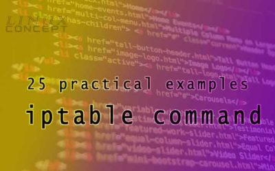 25 Practical examples of iptables command
