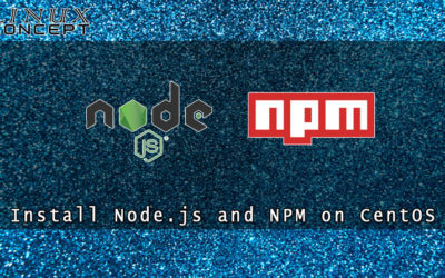 How to Install Node.js and NPM on CentOS 6 Linux